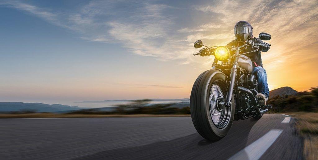 Motorrad Banner Tablet