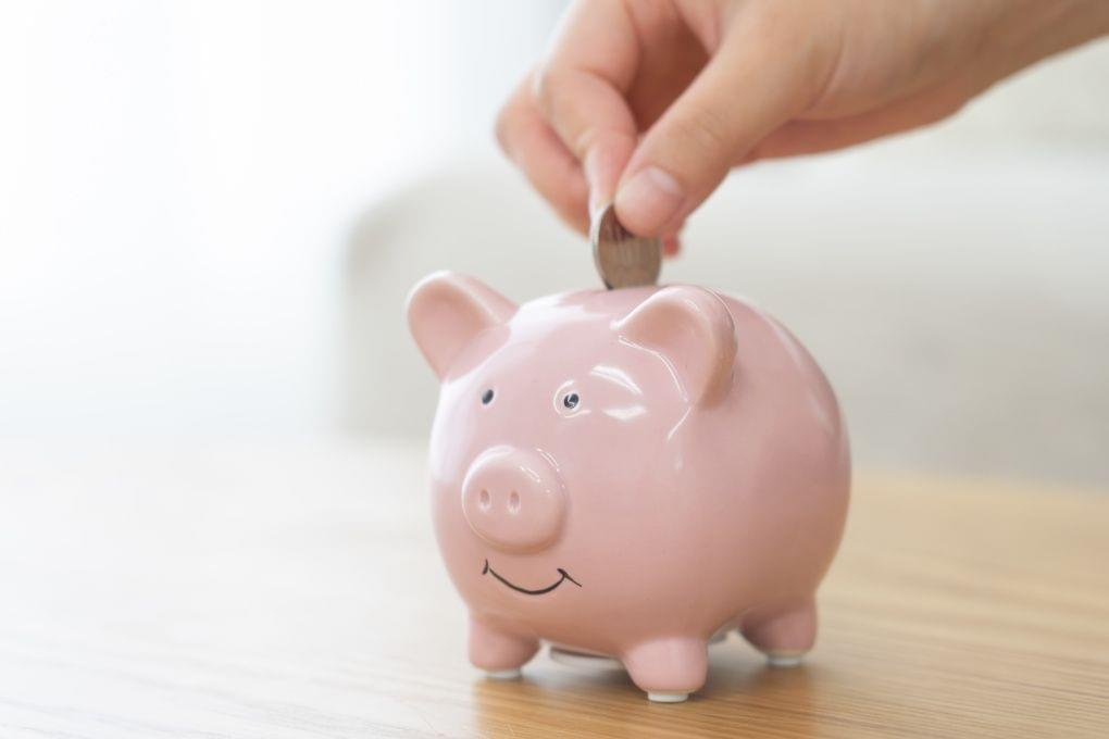 Sparschwein sparen