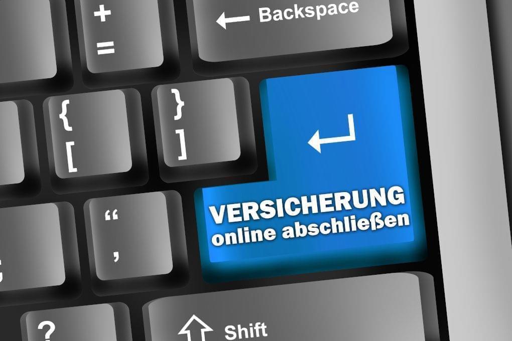 Versicherung online abschließen