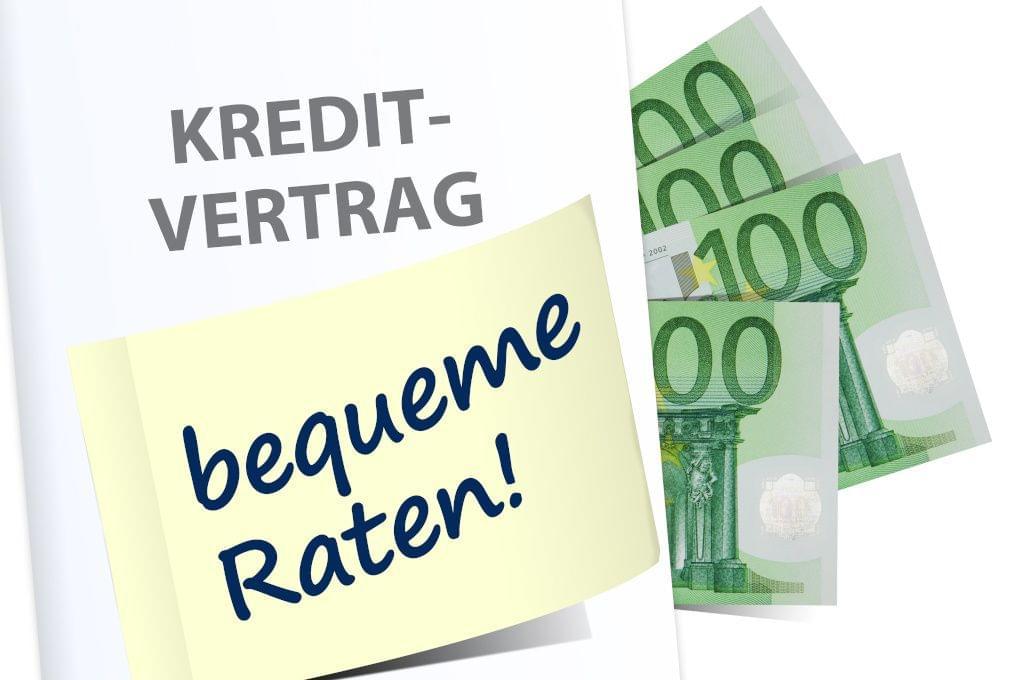 Günstige Kredit-Monatsraten