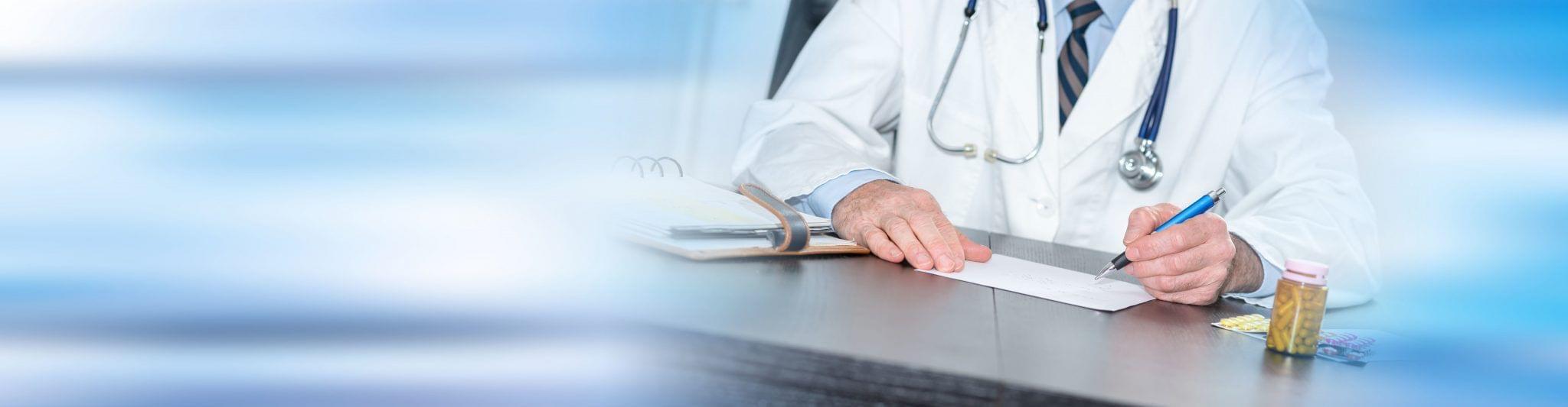 Arzt Rezept Banner Tablet