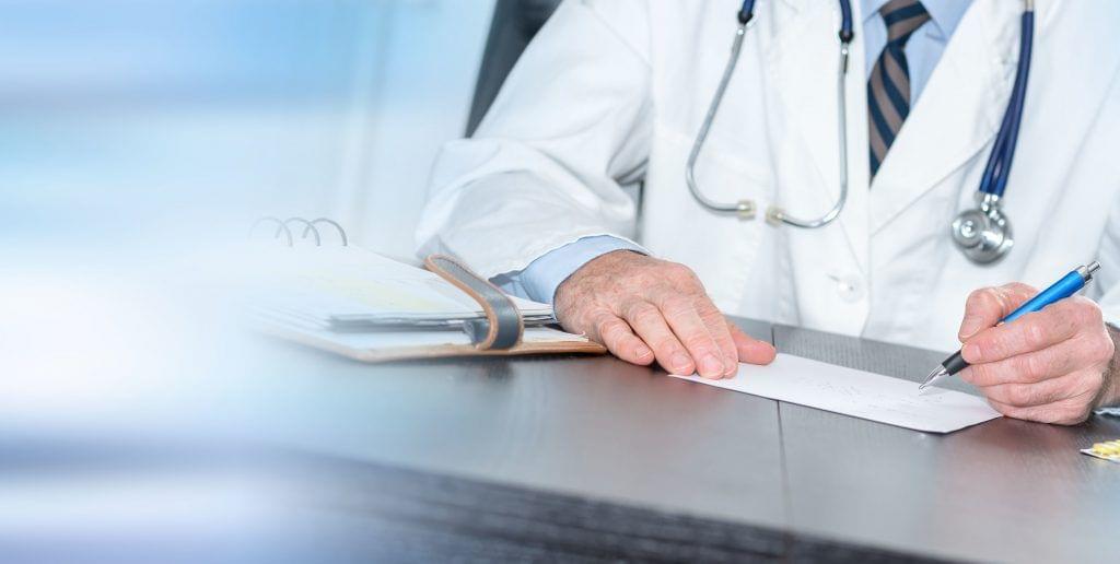 Arzt Rezept Banner Desktop