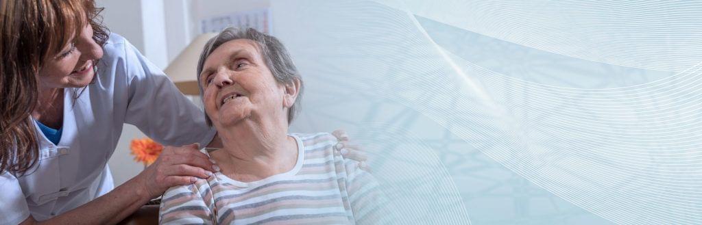 Altenpflege Rentnerin