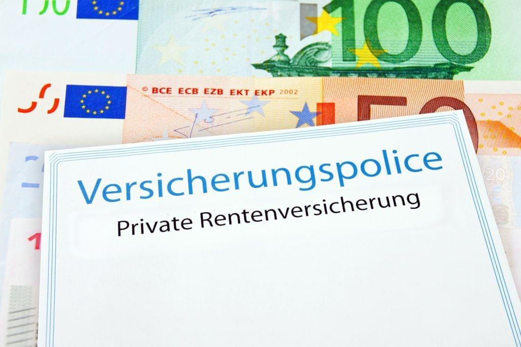 Private Rentenversicherung Police