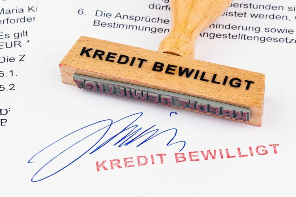 Kredit bewilligt
