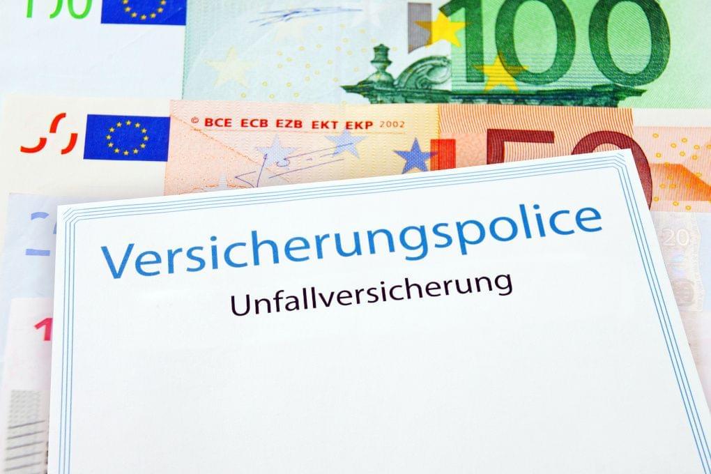 unfallversichrung police