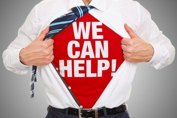 Wir können helfen